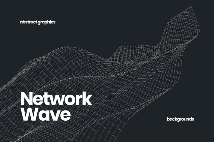 Smooth Network Wave Background