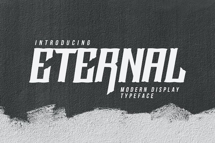 Cover Image For Eternal Font