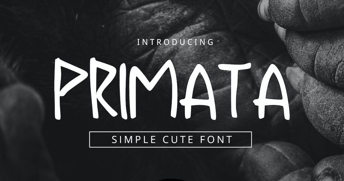Download Primata Font by yandidesigns