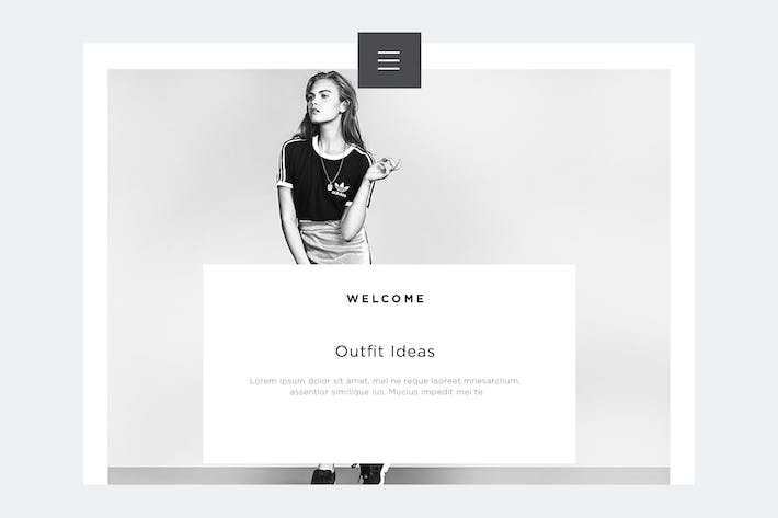 Cover Image For Fashion Landing Page