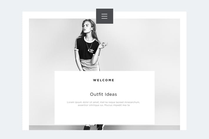 Thumbnail for Fashion Landing Page