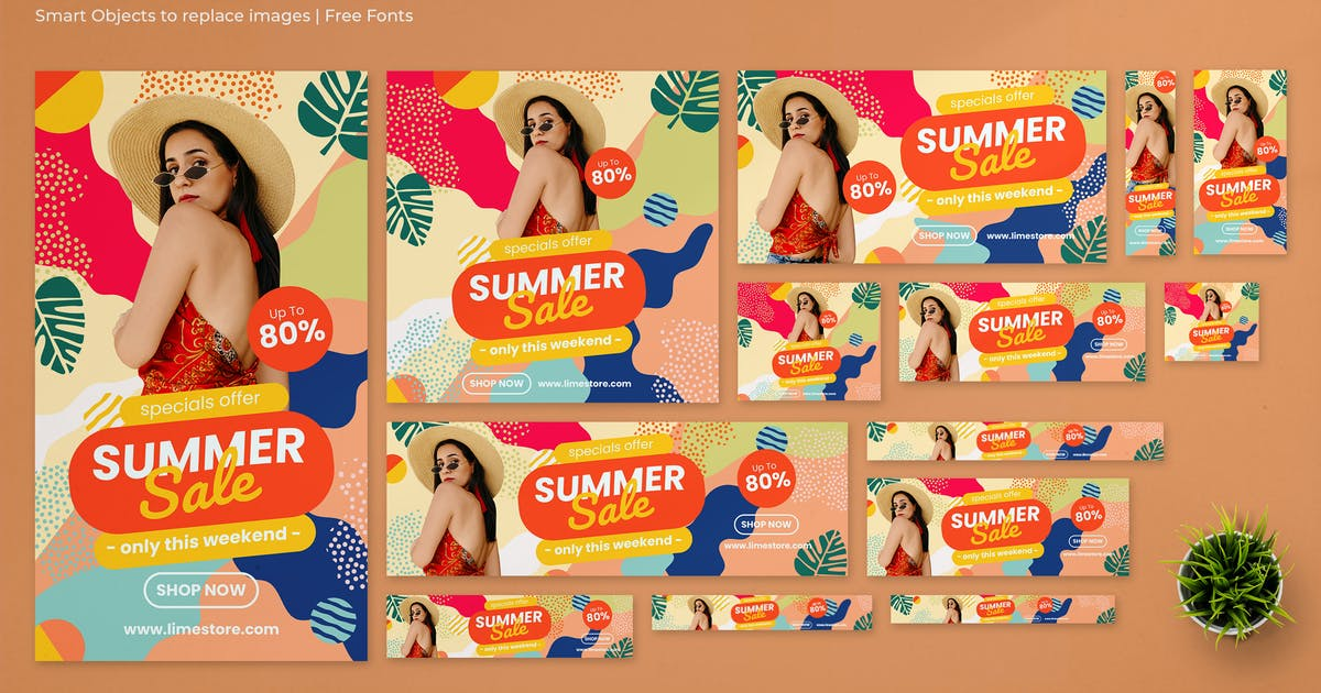 Download Summer Sale Google Ads Banners by Gioraphics