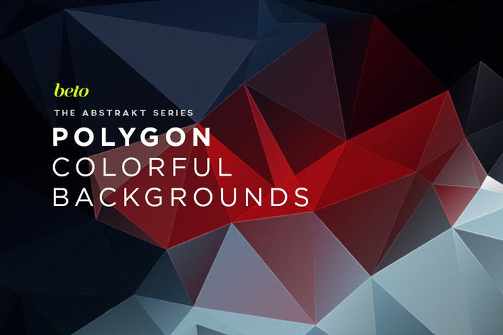 Thumbnail for Polygon Abstract Backgrounds V9