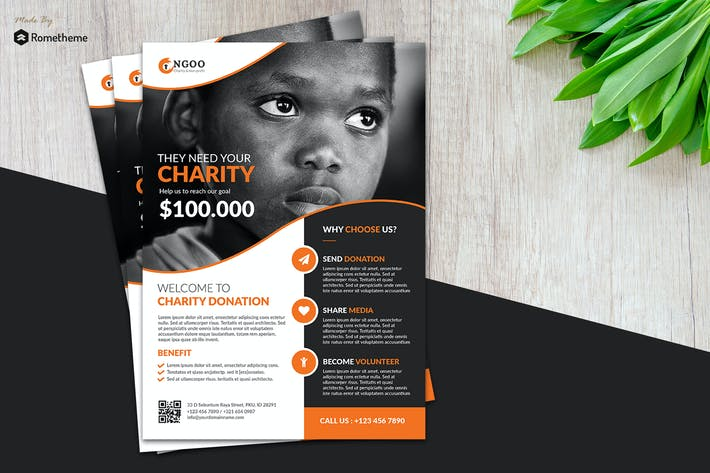 Thumbnail for Charity Flyer vol.01
