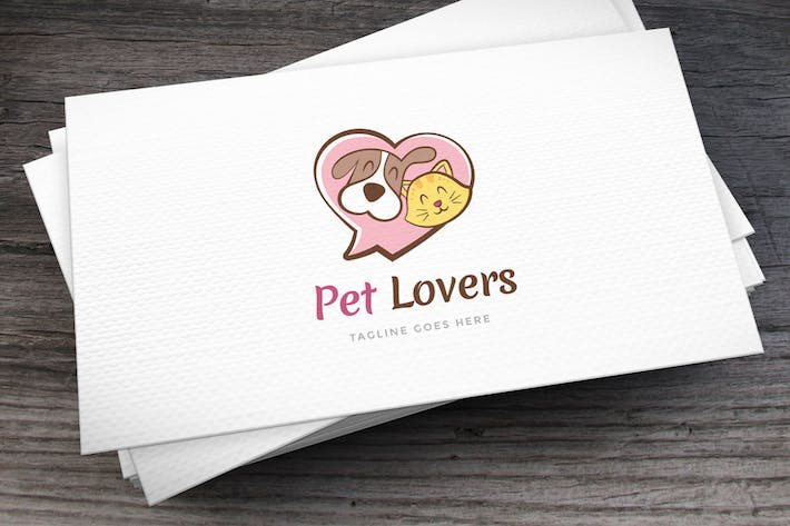 Thumbnail for Pet Lovers Logo Template
