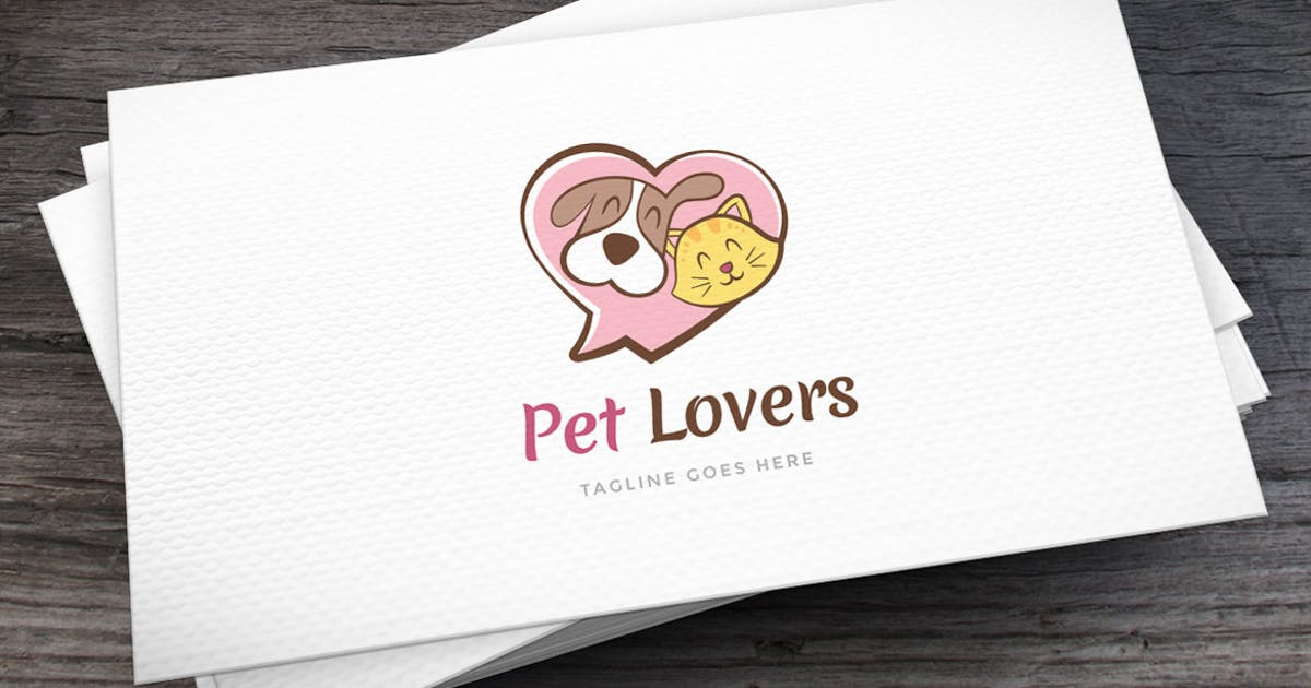Download Pet Lovers Logo Template by empativo