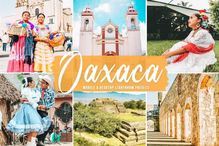 Пресеты Lightroom для мобильных и настольных ПК Oaxaca