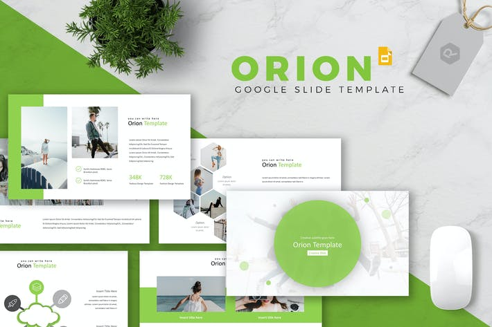 Cover Image For Orion - Google Slides Template