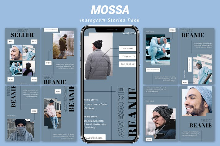 Thumbnail for Mossa - Instagram Promotion Pack