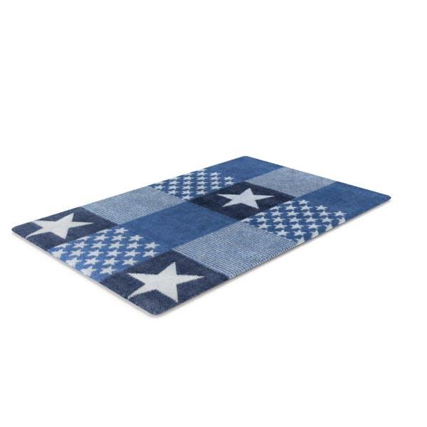 Teppich Blue Stars