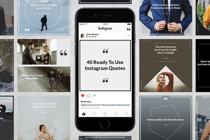 Thumbnail for 40 Instagram Quotes