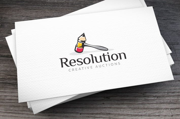 Thumbnail for Resolution Logo Template