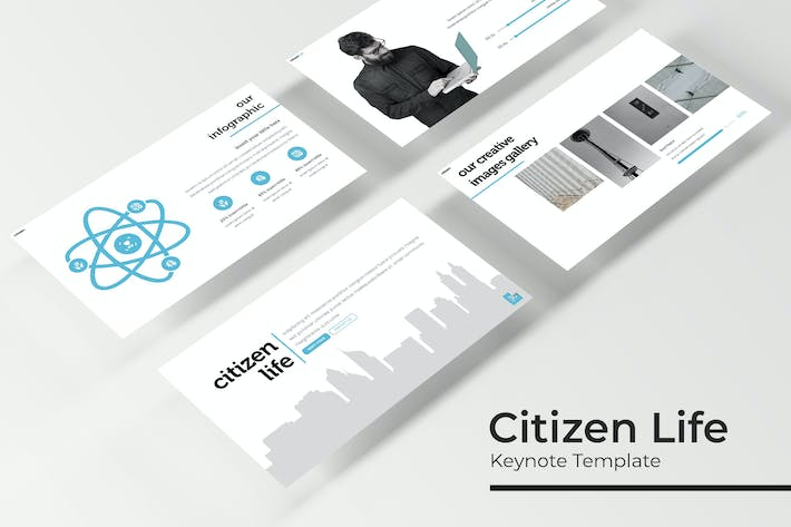 Thumbnail for Citizen Life - Keynote Template