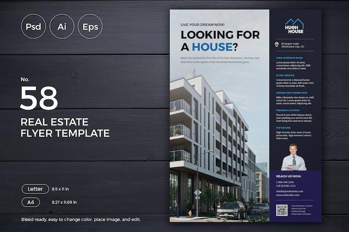Thumbnail for Real Estate Flyer 58 - Slidewerk