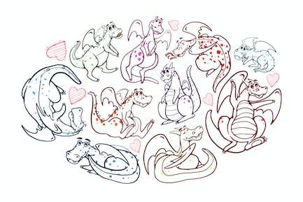 Dragon Pet Doodles