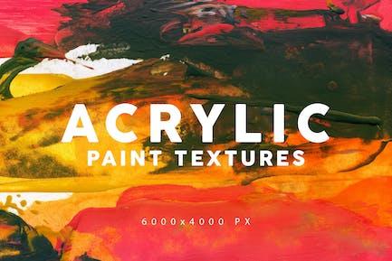 Acrylfarbe Texturen 1