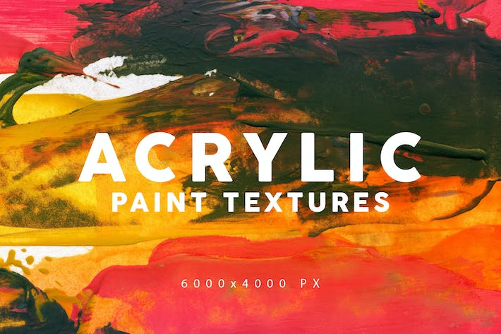 Thumbnail for Acrylic Paint Textures 1