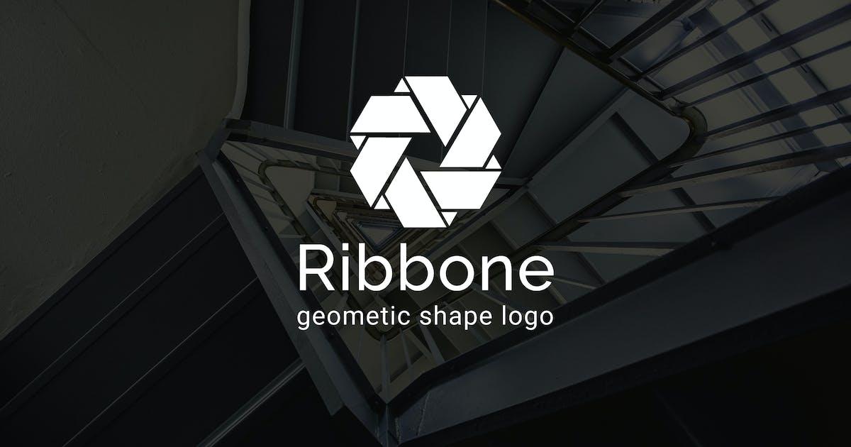 Download Ribbone : Geometric Shape Logo by punkl