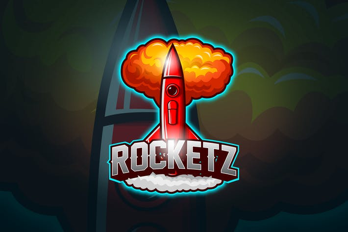 Thumbnail for Rocket - Mascot & Esport Logo