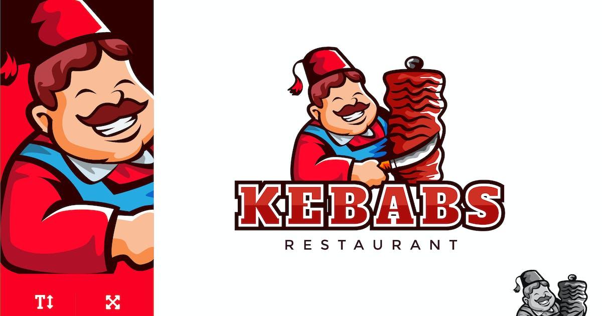 Download Kebab Food Logo Illustration Vector by naulicrea