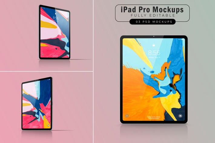 Thumbnail for iPad Pro Mockups V.4