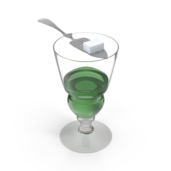 Thumbnail for Absinthe Glass with Spoon