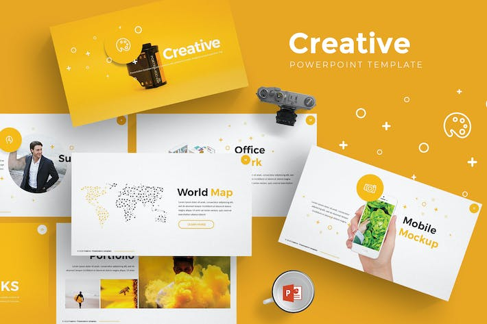 Download 3564 Powerpoint Creative Presentation Templates