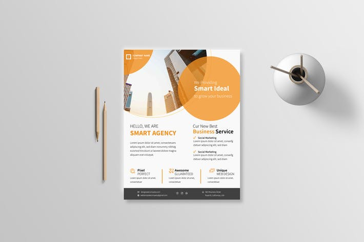 Thumbnail for Business Flyer 27