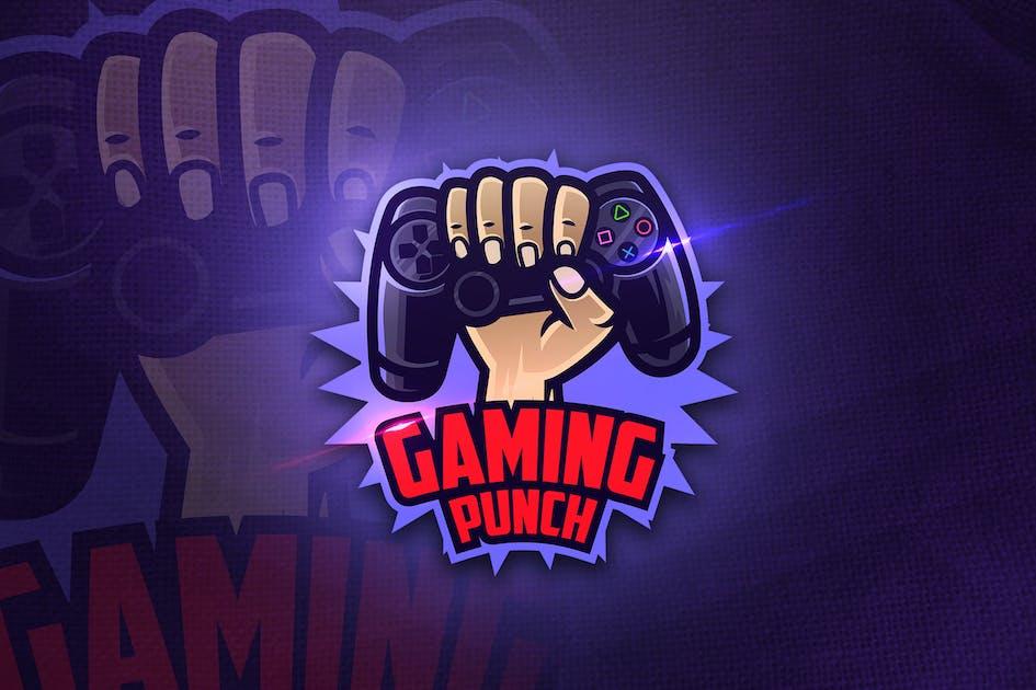 Download Gaming Punch - Mascot & Esport Logo by aqrstudio
