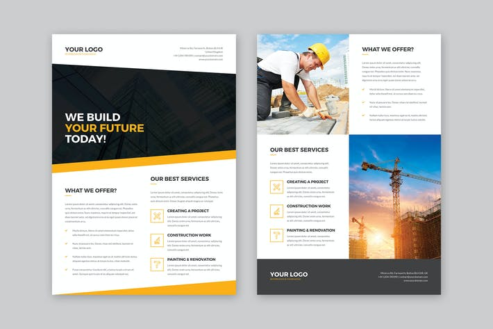Thumbnail for Flyer – Architecture and Construction