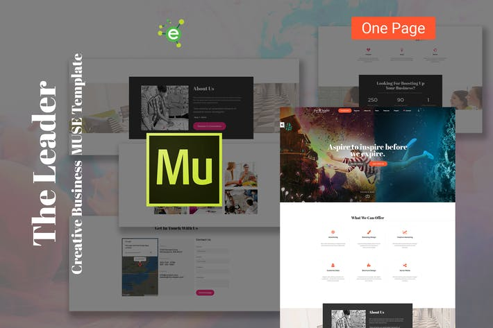 Thumbnail for The Leader - Creative Business Muse Template