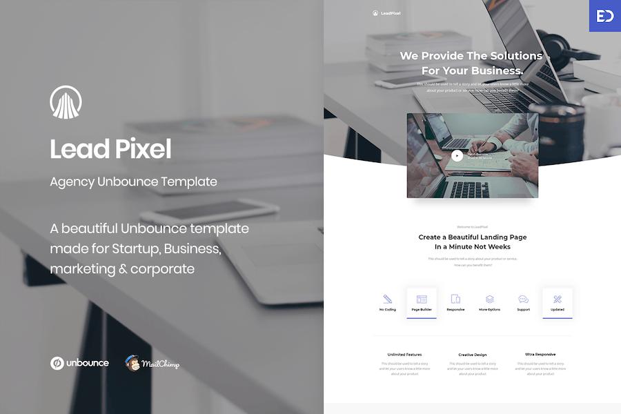 LeadPixel - Agency Unbounce Landing Page