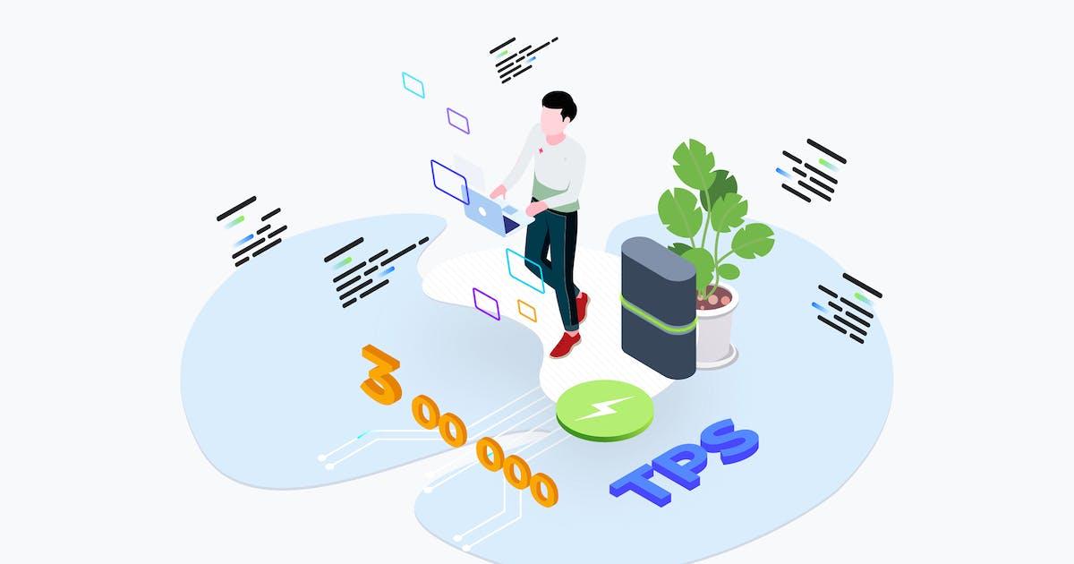 Download Blockchain Platform Transaction Per Secends by angelbi88