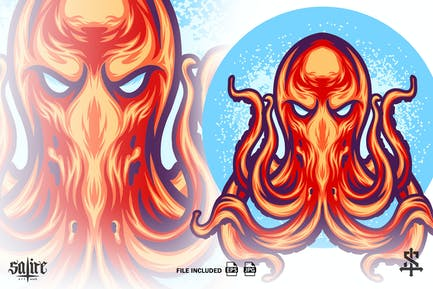 Das Oktopus-Tier