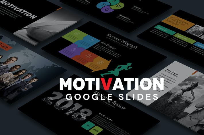 Thumbnail for MOTIVATION Google Slides