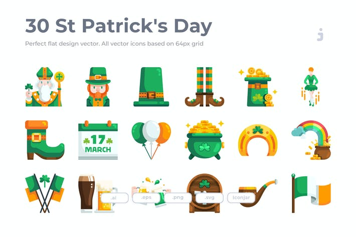 Thumbnail for 30 St-Patrick's Day- Flat