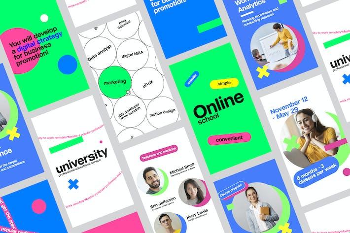 Thumbnail for Education Social Media Pack