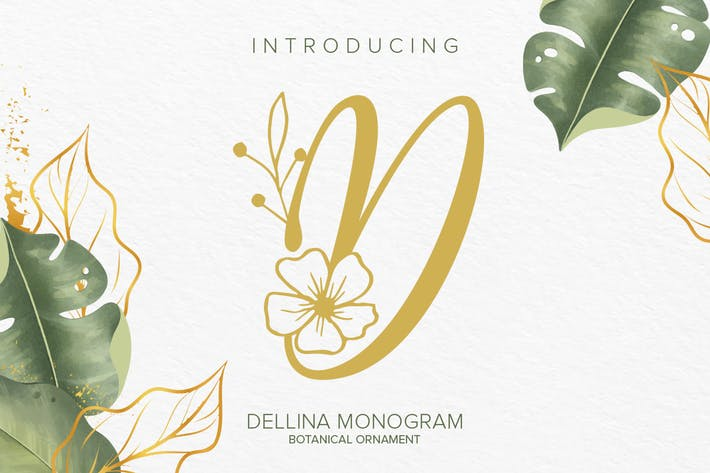 Thumbnail for Dellina Monogram