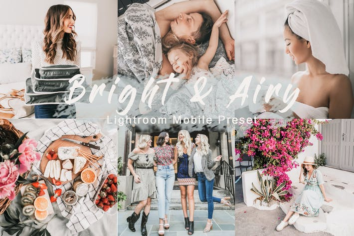 Thumbnail for Bright & Airy - Lightroom Mobile Preset
