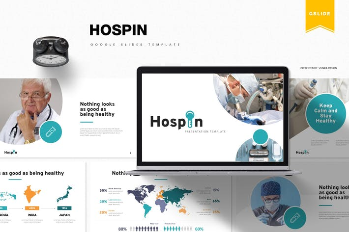Thumbnail for Hospin | Google Slides Template