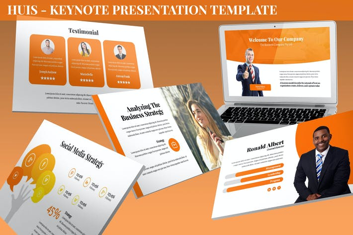 Thumbnail for Huis - Keynote Presentation Template