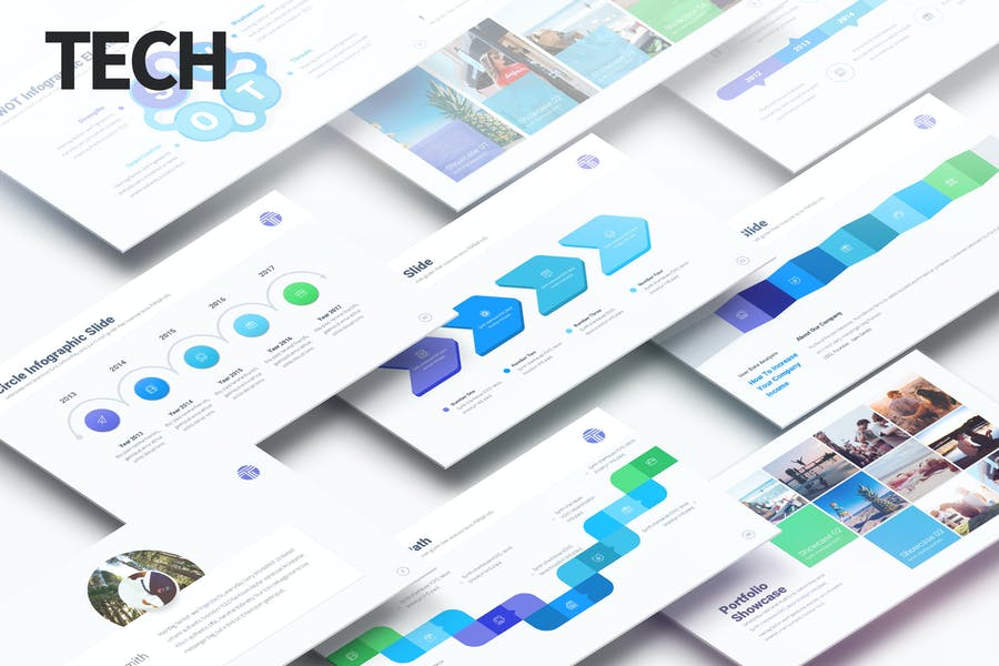 Tech - Multipurpose PowerPoint Presentation
