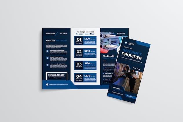 Internet Provider Trifold Brochure