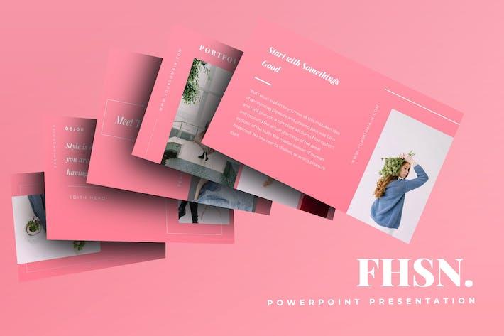 Thumbnail for Fashion Powerpoint Presentation
