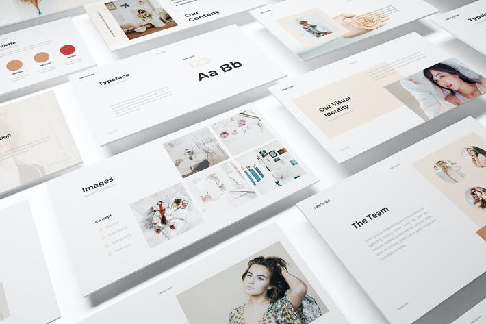 Thumbnail for Branding Guideline Powerpoint Template