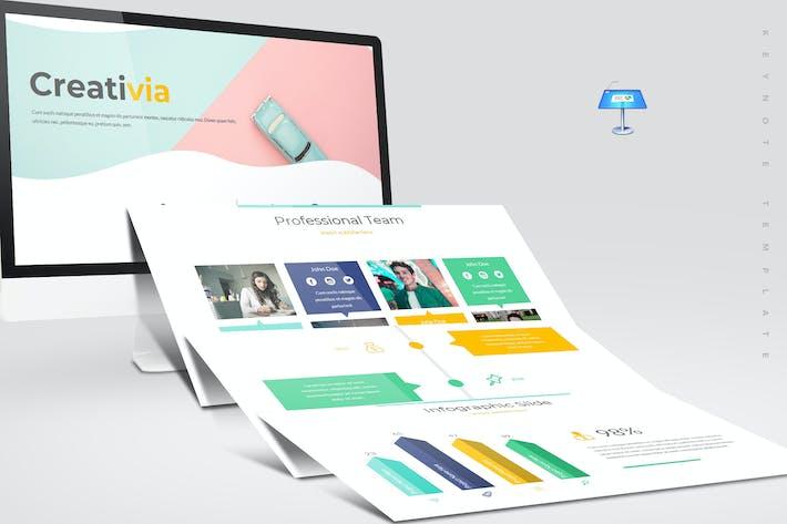 Thumbnail for Creativia - Keynote Template