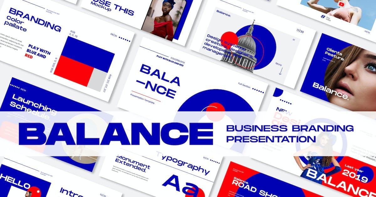 Download Balance Business Branding Keynote - JJ by templatehere