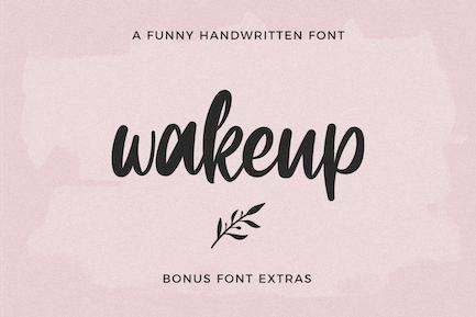 Wakeup Extras Symbol Font