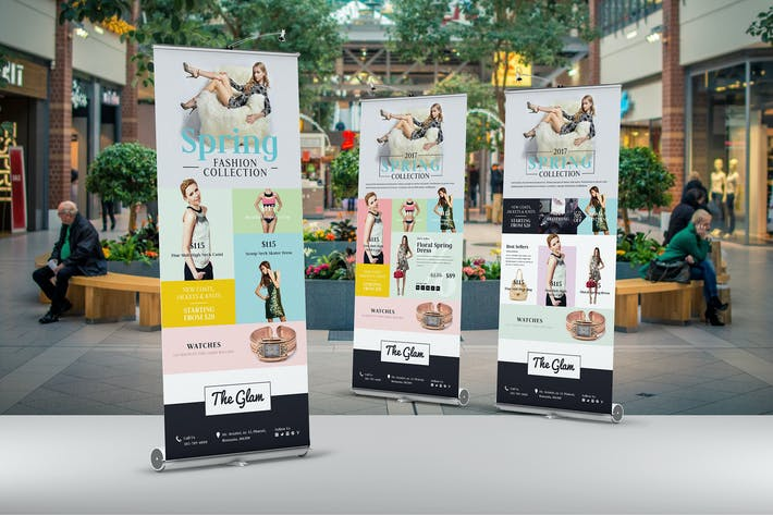 Thumbnail for Fashion Roll-Up Banner