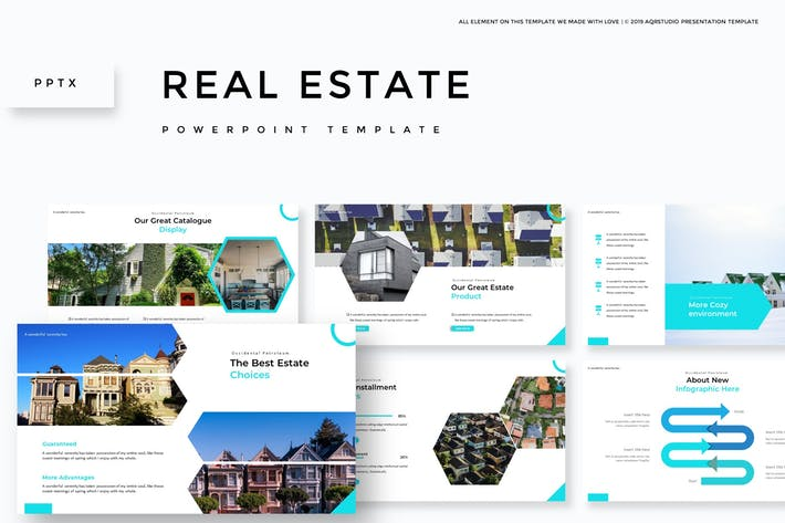 Real Estate - Powerpoint Template
